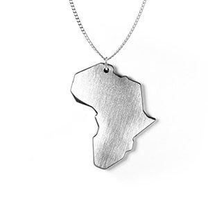 Large Africa Pendant