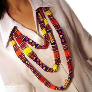 Tube & Strand Necklace