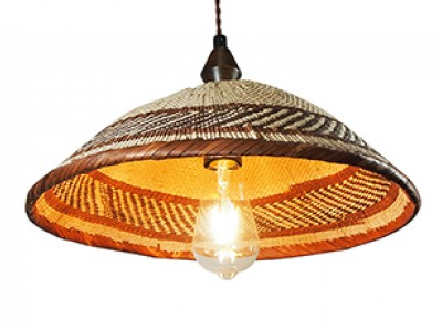 African Basket Lampshade