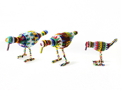 Zulu Beaded Birds